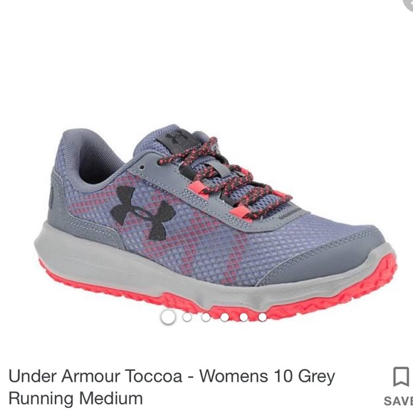 b429f6a655 Women New Under Armour Toccoa Running Shoes US 10 NWT